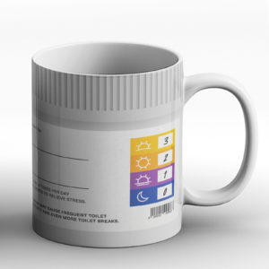 Joke Prescription Coffee – Printed Mug