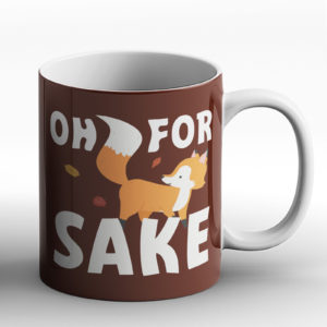 For Fox Sake – Printed Mug