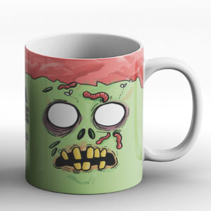 Zombie Brain Juice – Printed Mug