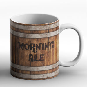 Morning Ale Tankard – Printed Mug