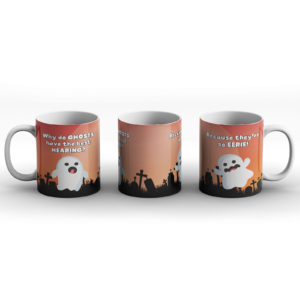 Selection of Halloween Joke Designs – Printed Mug