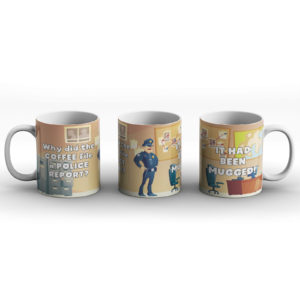 Selection of Funny Dad Joke Designs – Printed Mug