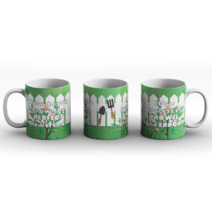 Trowel and error – Printed Mug