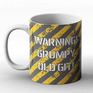Grumpy Old Git – Printed Mug
