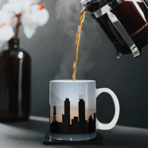 I would love to be in Mexico City Design – Printed Mug