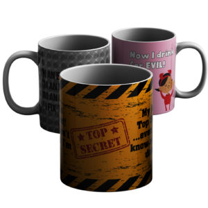 Selection of Fun Designs – Printed Mug
