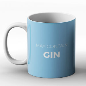 May contain gin – Printed Mug