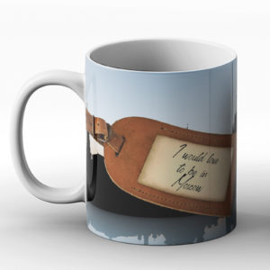 I would love to be in Moscow Design – Printed Mug