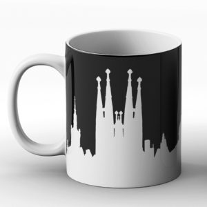 I would love to be in Barcelona Design – Printed Mug
