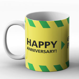 Anniversary? Nope, it's 2020 – Printed Mug