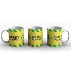 Merry Christmas? Nope, it's 2020 – Printed Mug