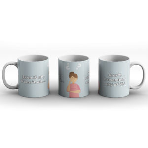 Seen it all woman – Printed Mug