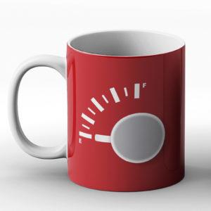 Empty / Full – Printed Mug
