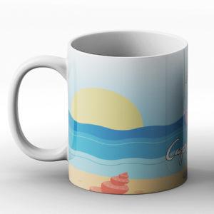 Ahoy Cappucino! – Printed Mug
