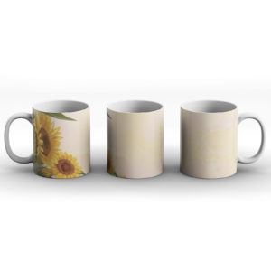 As bright as a sunflower – Printed Mug