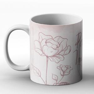 Perfectly imperfect – Printed Mug
