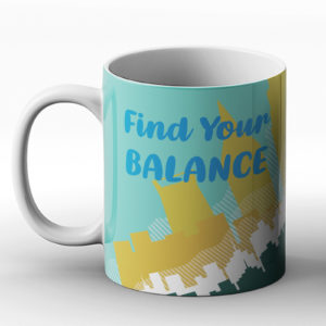 Find your balance – Printed Mug