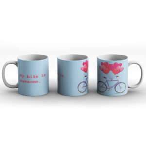 Cyclists Unite! – Printed Mug