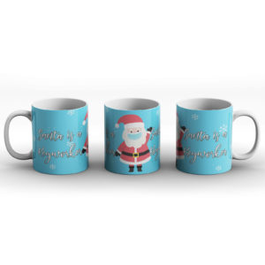 Santa Is A Keyworker – Printed Mug