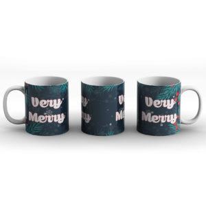 Very Merry – Printed Mug