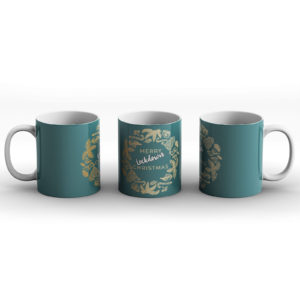 Merry Lockdown Christmas – Printed Mug