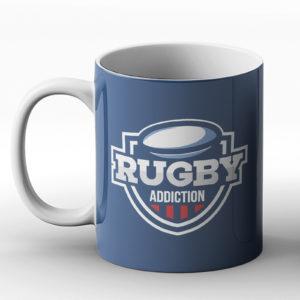 Rugby Addiction – Printed Mug