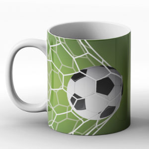 Just Like In Life, In Football We Need Goals – Printed Mug