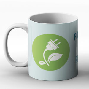 Powered By Plants – Printed Mug