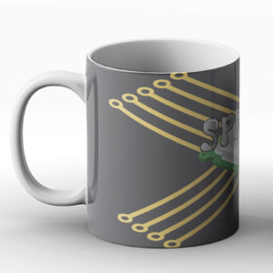 Spread it – PC CPU Thermal Paste Joke Gaming  – Printed Mug