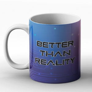 Better Than Reality Circuit Board PC Computer Design – Printed Mug