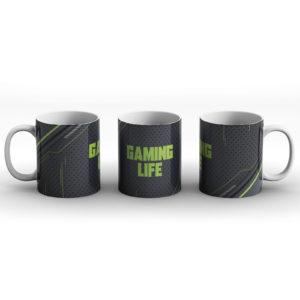 Gaming Life – Modern Computer Design – Printed Mug