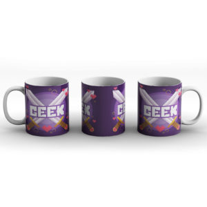 Geek – 1Up Extra Life Gaming Pride Design – Printed Mug