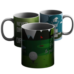 Golf lovers – Printed Mug
