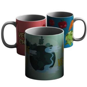 Vegan Life – Printed Mug