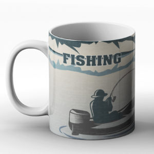 Any Excuse To Get Drunk On A Boat – Fishing Design – Printed Mug