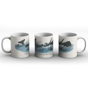 The Fish Was This Big – Printed Mug