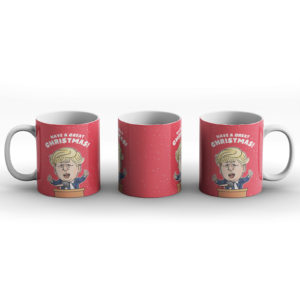 Christmas Boris – Printed Mug