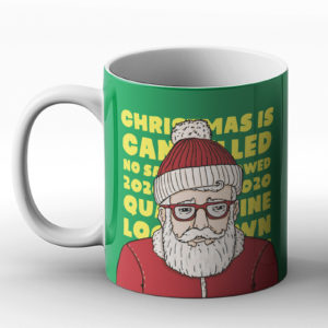 Christmas Sad Santa 2020 – Printed Mug