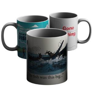 Fishing For Compliments – Printed Mug