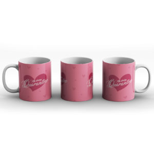 My Funny Quarantine Valentines – Printed Mug