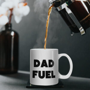 DAD FUEL – Printed Mug – Bold Design Both Sides