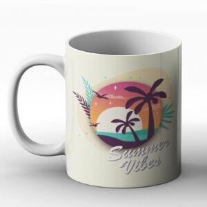 Summer Vibes – Printed Mug