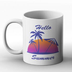 Hello Summer – Printed Mug