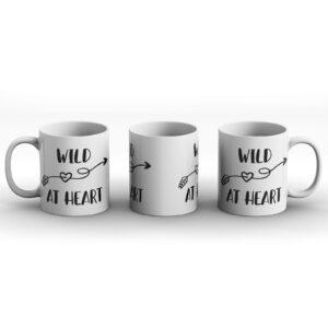 Wild At Heart – Printed Mug