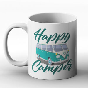 Happy Camper – Printed Mug