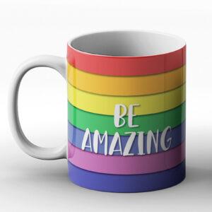 Be Amazing – Printed Mug