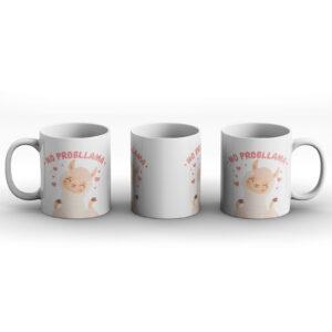 No Probllama – Printed Mug