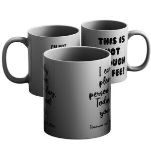 Workplace Sass – Printed Mug