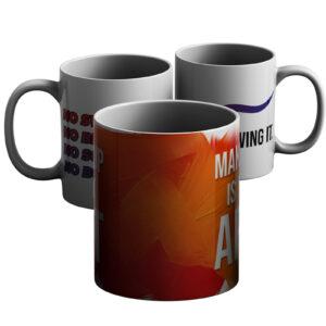 Magnetic In Makeup – Printed Mug