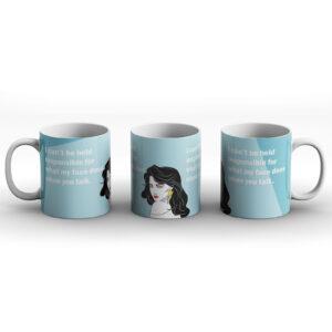 Angry And Antisocial – Printed Mug